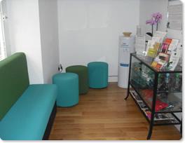 Wood Street Wellbeing lobby area
